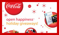 Open Happiness Holiday Giveaways